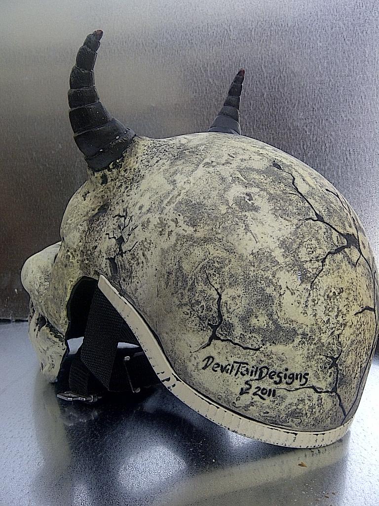 Demon Skull 3D Helmet